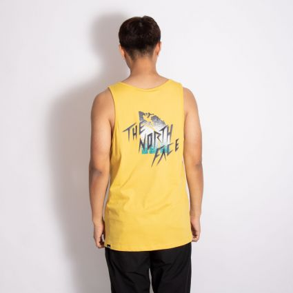 The North Face Masters Of Stone Tank Bamboo Yellow