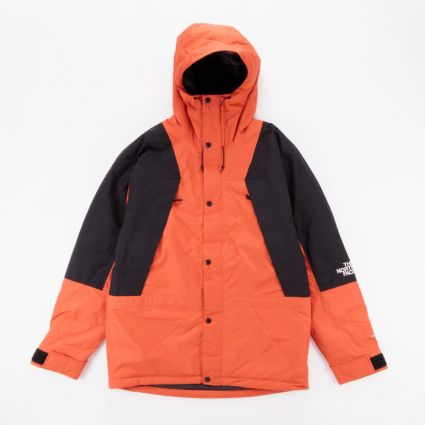 The North Face Mountain Light DryVent Insulated Jacket Burnt Ochre1