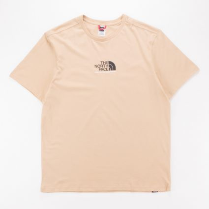 The North Face S/S Fine Alpine Equipment T-Shirt 3 Hawthorne Khaki1