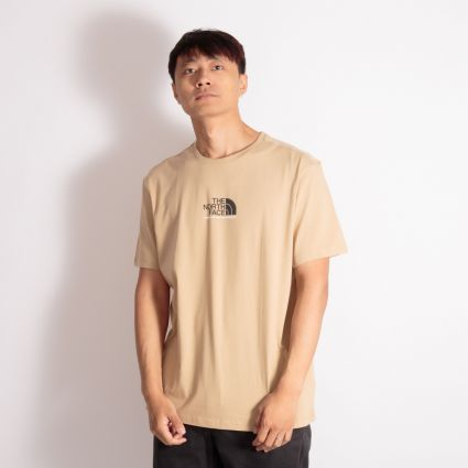 The North Face S/S Fine Alpine Equipment T-Shirt 3 Hawthorne Khaki