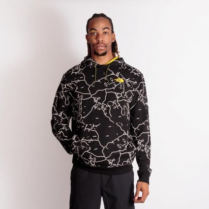 The North Face Search & Rescue Hoodie TNF Black/Shan Mar Print