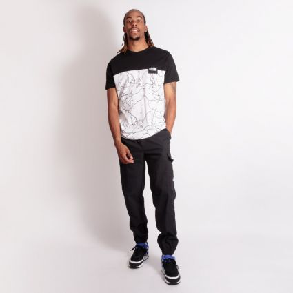 The North Face Search & Rescue T-Shirt TNF White/Shan Mar Print