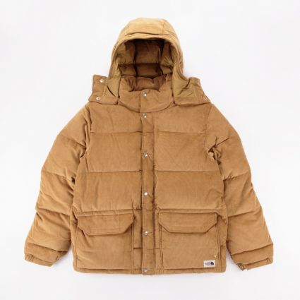 The North Face Sierra Down Cord Parka Utility Brown1
