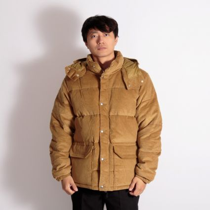 The North Face Sierra Down Corduroy Parka Utility Brown
