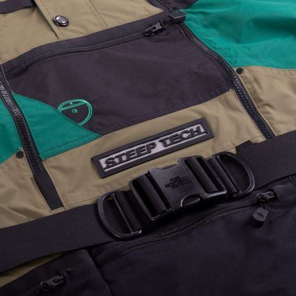 The North Face Steep Tech Apogee Vest Burnt Olive Green/Evergreen/TNF Black
