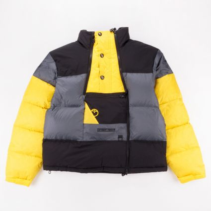 The North Face Steep Tech Down Jacket Vanadis Grey/TNF Black/Lightning Yellow1