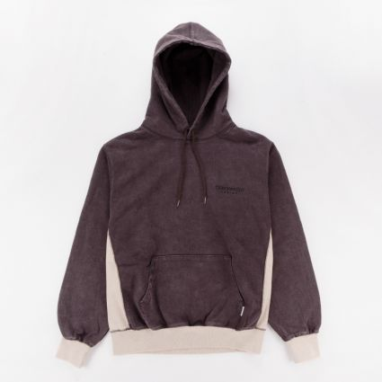 ThisIsNeverThat Side Paneled Hoodie Charcoal1