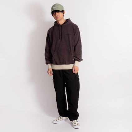 ThisIsNeverThat Side Paneled Hoodie Charcoal