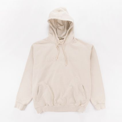ThisIsNeverThat Washed Embroidery Hoodie Stone1