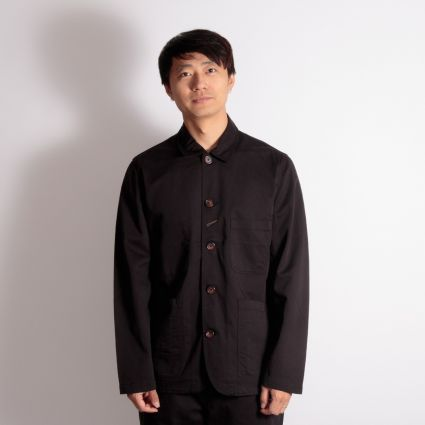 Universal Works Bakers Jacket Black