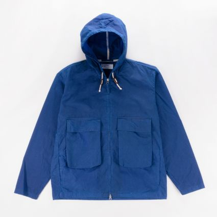 Universal Works Hangout Jacket Blue1