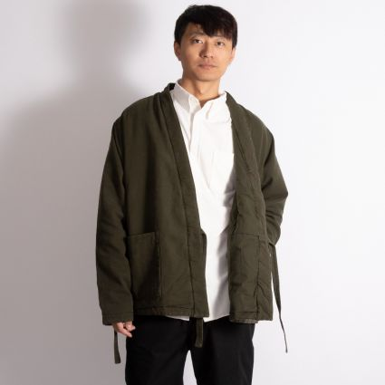 Universal Works Insulated Kyoto Work Jacket Olive