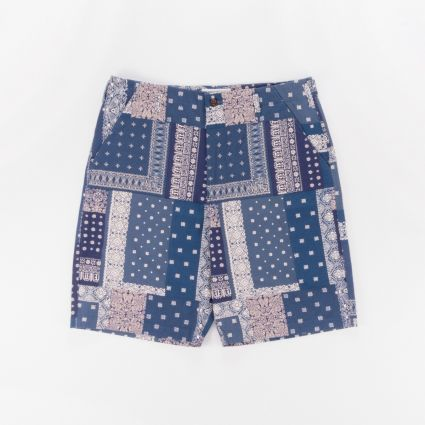 Universal Works Loose Short Indigo1