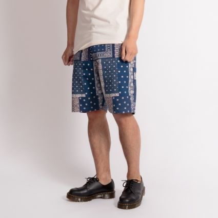 Universal Works Loose Short Indigo