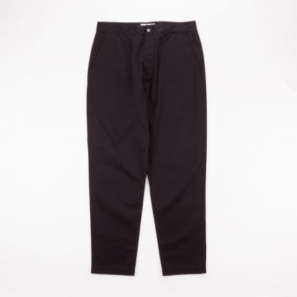 Universal Works Military Chino Black1
