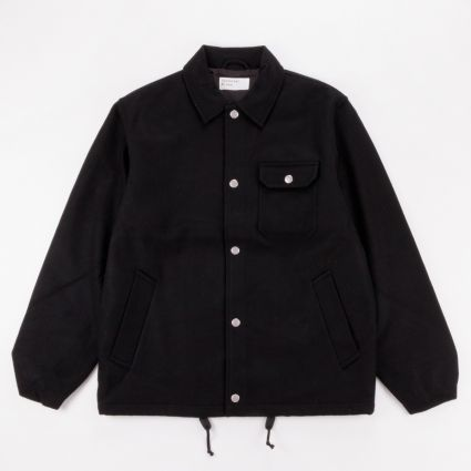Universal Works Coach Jacket Black1