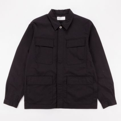 Universal Works MW Fatigue Jacket Black1