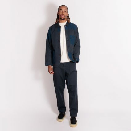 Universal Works Patched Mil Fatigue Pant Navy