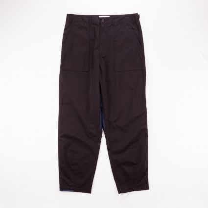 Universal Works Patched Mill Fatigue Pant Black/Navy1