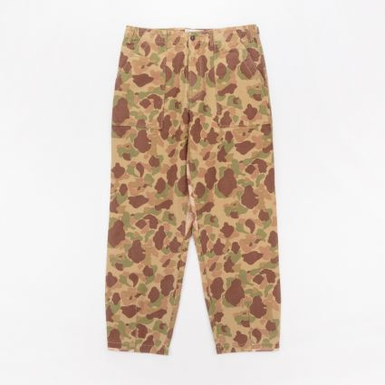 Universal Works Patched Mill Fatigue Pant Peacekeeper Camo Olive/Sand1