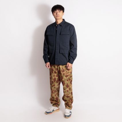 Universal Works Patched Mill Fatigue Pant Peacekeeper Camo Olive/Sand