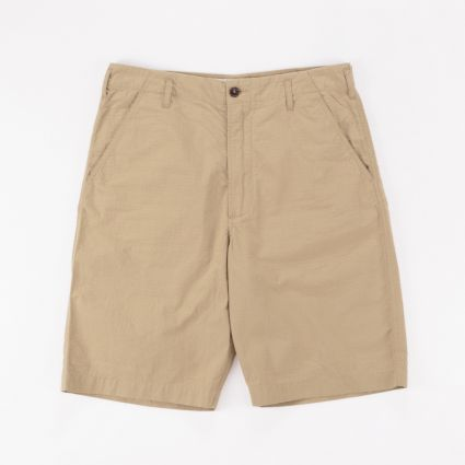 Universal Works Ripstop Loose Short Sand