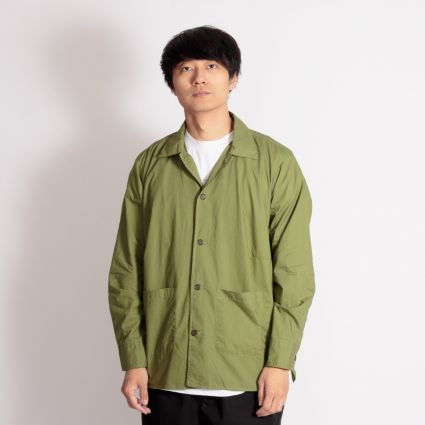 Universal Works Travail Shirt Olive