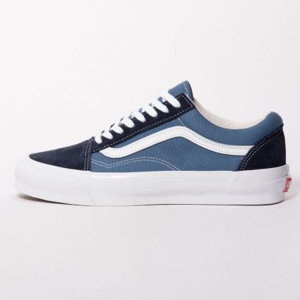 Vans UA OG Old Skool LX (Suede/Canvas) Navy/STV Navy