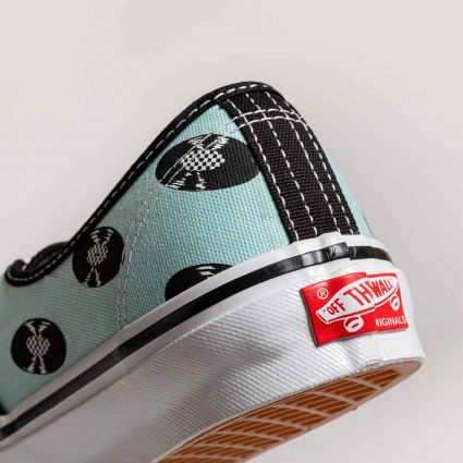 Vans Vault UA OG Authentic LX  x Wacko Maria Baby Blue/Records VN0A4BV95911