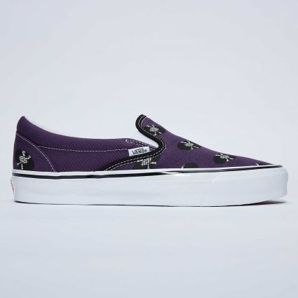 Vault by Vans x Wacko Maria UA OG Classic Slip-On LX Purple/Records VN0A45JK5961