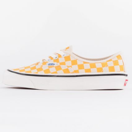 Vans UA Authentic 44 DX Anaheim Factory OG Yellow/OG Checker1