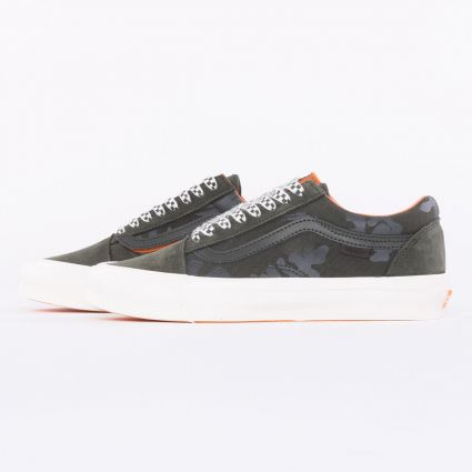 Vans x Porter UA OG Old Skool LX Forest Night/Black Ink1