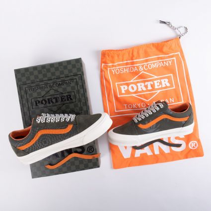 Vault by Vans X Porter UA OG Old Skool LX Forest Night/Black Ink
