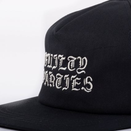 Wacko Maria 6 Panel Cap (Type-1) Black