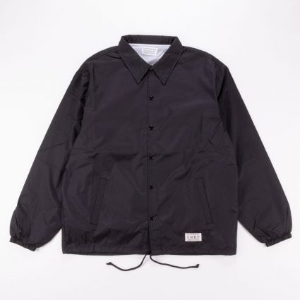 Wacko Maria Coach Jacket (Type-5) Black1