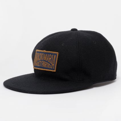 Wacko Maria Wool 6 Panel Cap (Type-2) Black