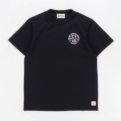 Wellgosh x Admiral Graphic T-Shirt Kite Black