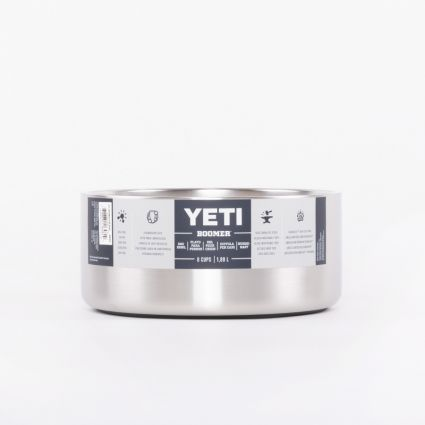 Yeti Boomer Dog Bowl 8 Cups/1,88L Stainless Steel