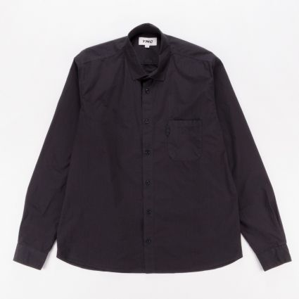 YMC Curtis Shirt Black1