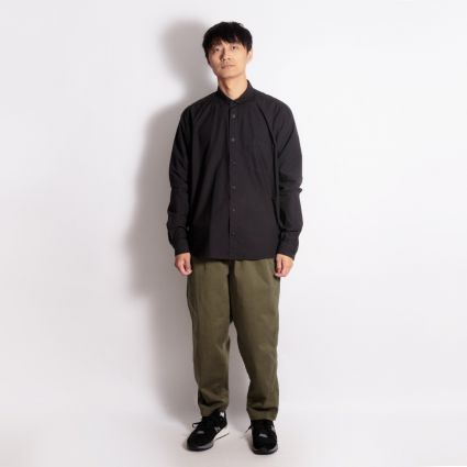 YMC Curtis Shirt Black