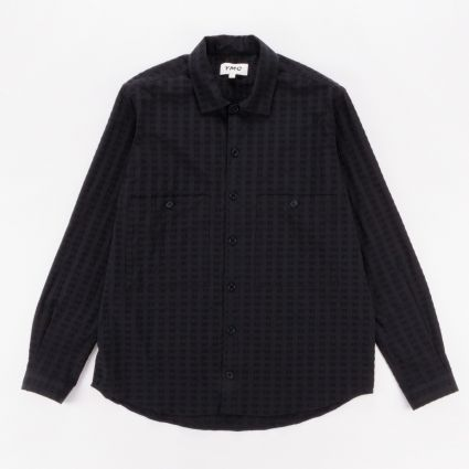 YMC Doc Savage Shirt Black1