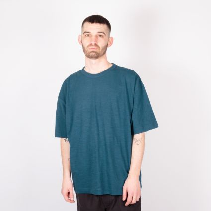 YMC Triple SS T-Shirt Blue/Navy