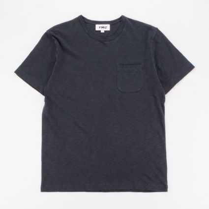 YMC Wild Ones Pocket T-Shirt Black1