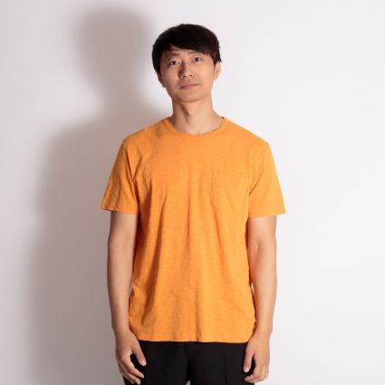 YMC Wild Ones Pocket T-Shirt Yellow