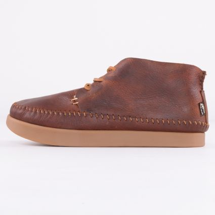 Yogi Silas Tumbled Leather Boot Chestnut Brown