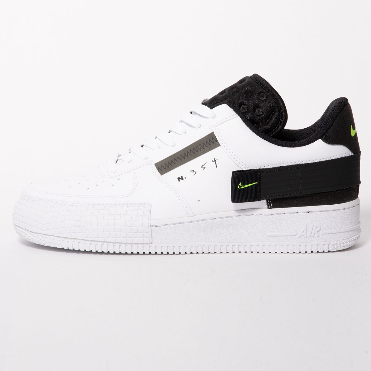 nike air force 1 type bianche e nere