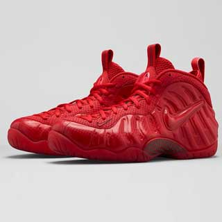 Nike Air Foamposite Pro 'Gym Red' 624041-603 - Releasing 11/04/15 00:01 (GMT)