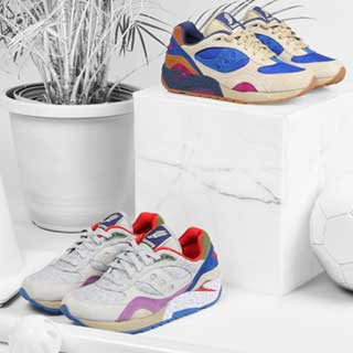 Bodega x Saucony Elite G9 Shadow 6 'Pattern Recognition' Pack - Releasing 00:01 (GMT) 09/05/15