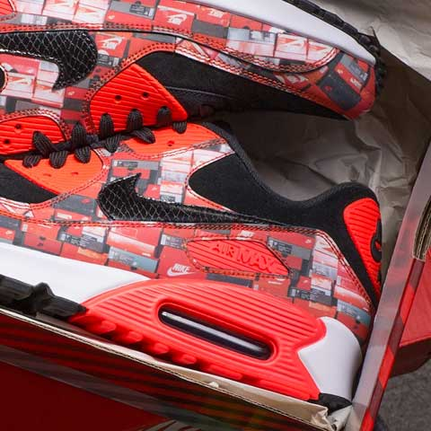 Nike x Atmos Air Max 90 'We Love Nike' Pack AQ0926-001 - Releasing 08:00 (BST) 26/05/18