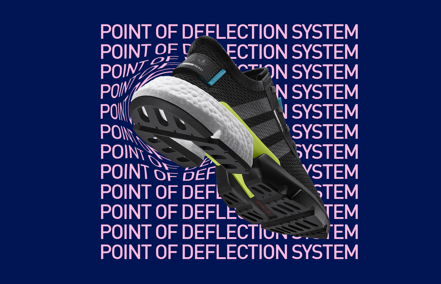 adidas Originals launch the brand new POD S3.1 'Point Of Deflection' system
